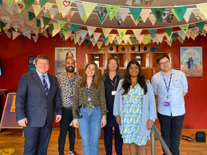 Dean Russell Visits Watford Palace Theatre