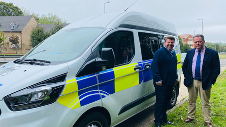 Dean Russell Meets Police and Crime Commissioner To Discuss Road Safety