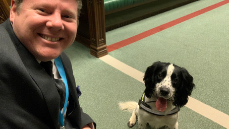 Dean Russell supports legislation to help combat rising pet theft