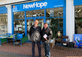 Dean Russell MP at New Hope