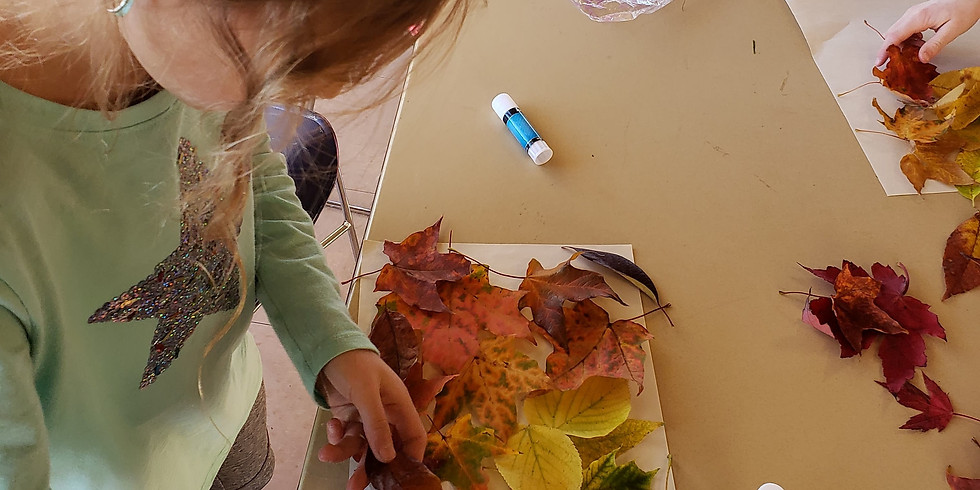 Inter-generational Fall Leaf Art and Stories - Free