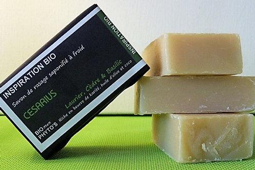 Savon à barbe Bio - Césarius - Bio Phyto's
