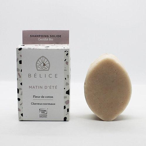 Shampoing solide Bio - Matin d'Eté - Belice