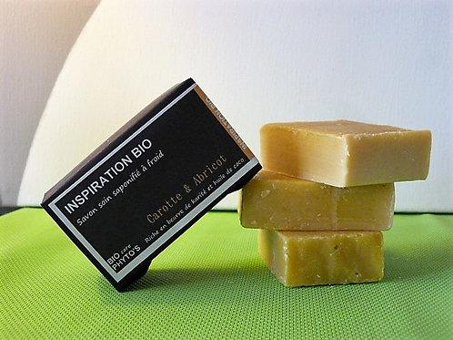 Savon solide Bio - Carotte & Abricot - Bio Phyto's