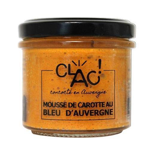 Mousse de Carotte au Bleu d'Auvergne