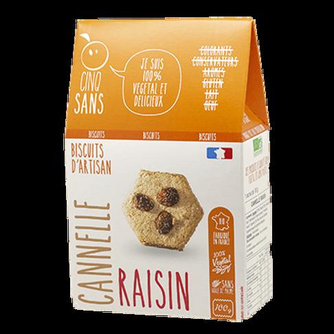 Biscuits Cannelle & Raisins