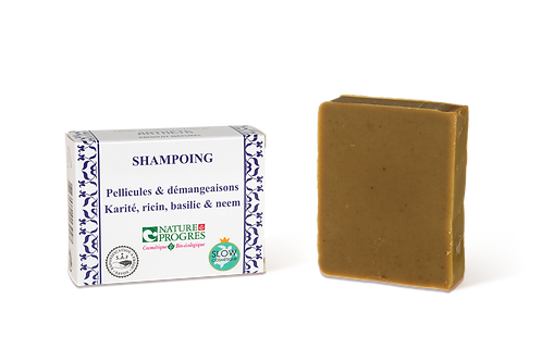 Shampoing solide Bio - Anti-pellicules & démangeaisons