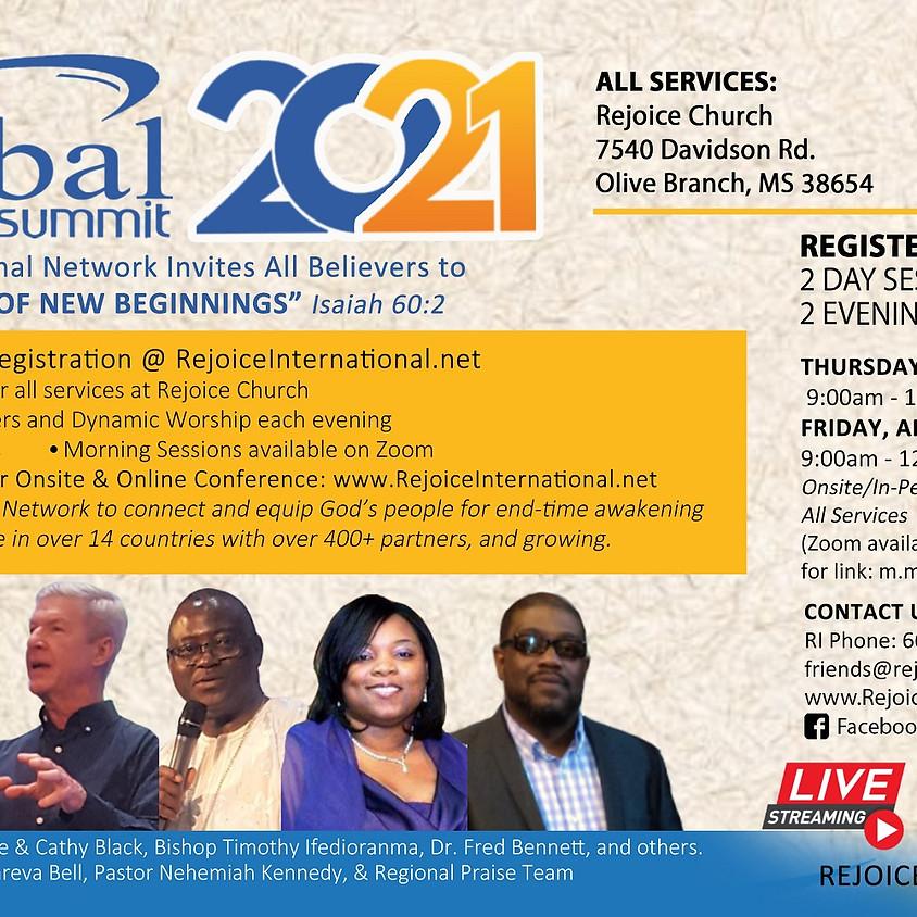 Rejoice International Network, GO GLOBAL SUMMIT 2021