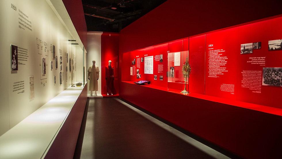 Kuratorskie oprowadzenie po Muzeum Jana Pawła II i Prymasa Wyszyńskiego