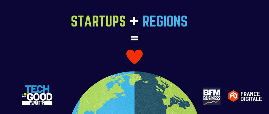 Startups et régions : une histoire d'amour ?