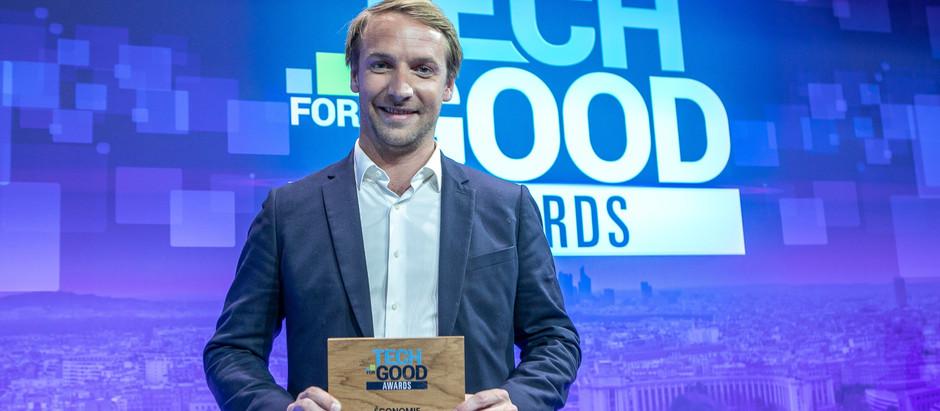 """Zoom sur Back Market, lauréat """"Economie Circulaire"""" des Tech for Good Awards 2019"""