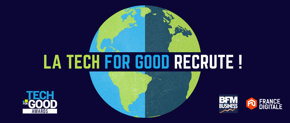 Les startups Tech for Good recrutent !