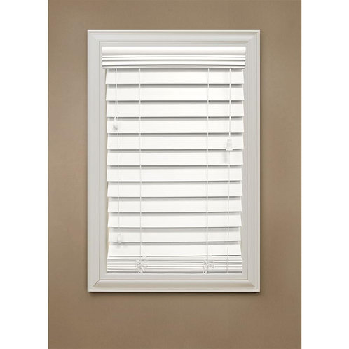 """Ultra Wood -Premium 2 """"Faux Horizontal Blinds - up to """"18x30"""""""