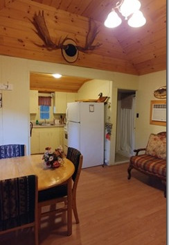 Cottage 1 - kitchen and dining area