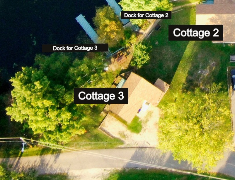 Aerial view - cottage 3