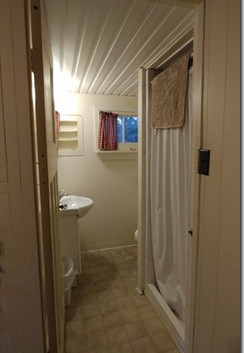 Cottage 1 - bath room (stand up shower stall)