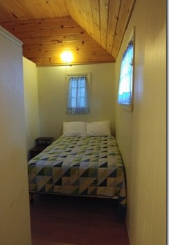 Cottage 1 (1 of 2 bedrooms with double bed)