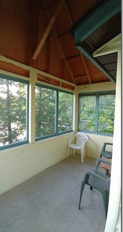 Cottage 1 - screened in porch