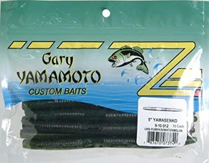 A large variety of Gary Yamamoto baits