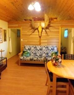 Cottage 1 - futon (double bed)