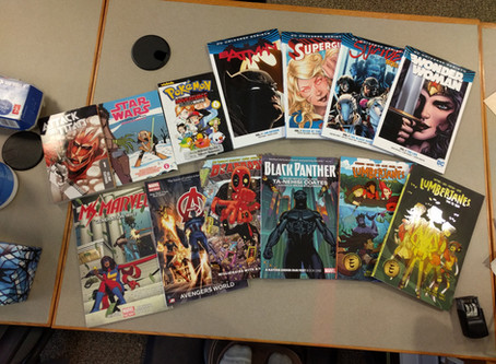 Comic Books Come to the Library