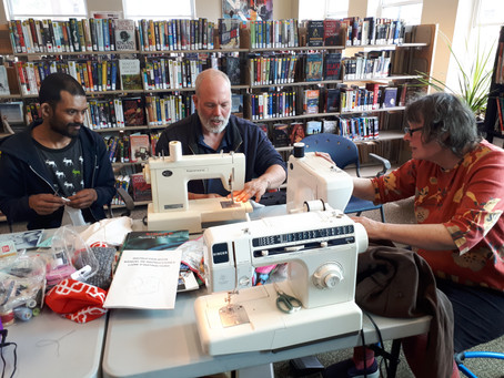 "Maynooth Trading Post Hosts ""Repair-A-Thon"" at HHPL"