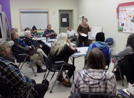 Local Transition Town Movement Hosts Hugelkultur Gardening Workshop