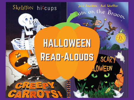 Spooktacular Read-Alouds For You & Your Little Ones