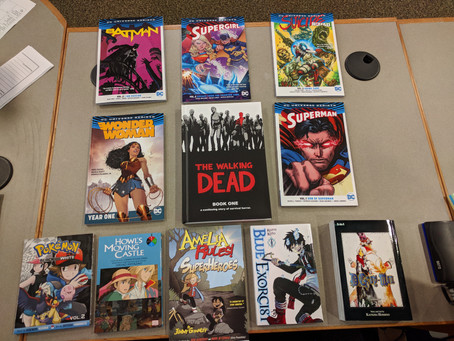 New Comics in the Library