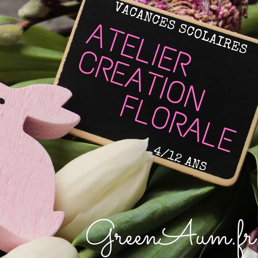 ATELIER CREATION FLORALE 4/12 ans