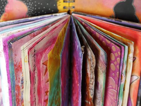 DIY Art et récup : créer un livre altéré
