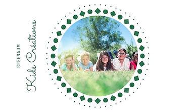 GreenAum kids creation