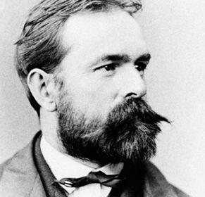Josef Rheinberger im Jahr 1869
