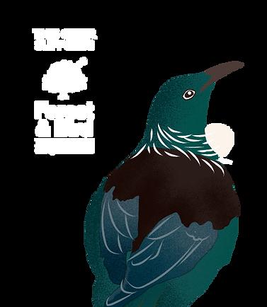 Zeden forest & bird Tui Logo