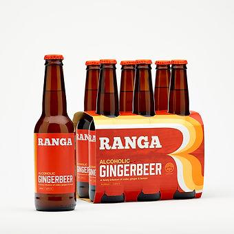 Ranga Alcoholic Gingerbeer 6-Pack