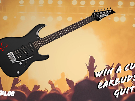 Win a custom EarBuds.Blog guitar!
