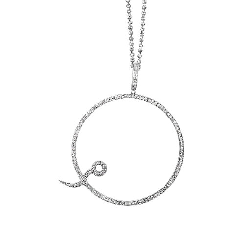 LIFE OF CIRCLE DIAMOND PENDANT