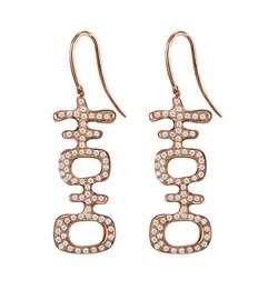 Double Happiness Diamond Earrings