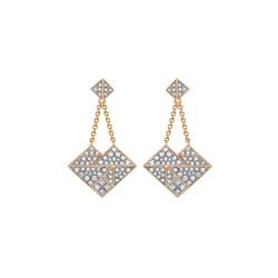 'Love' ear-pendants