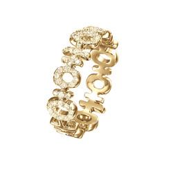 Mini Double Happiness Diamond Ring