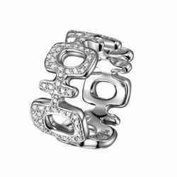 Double Happiness Diamond Ring