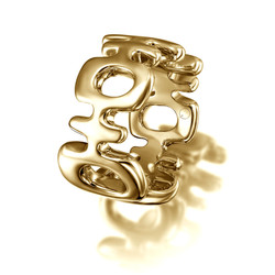 Double Happiness Ring