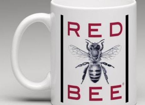 Red Bee Coffee Mug