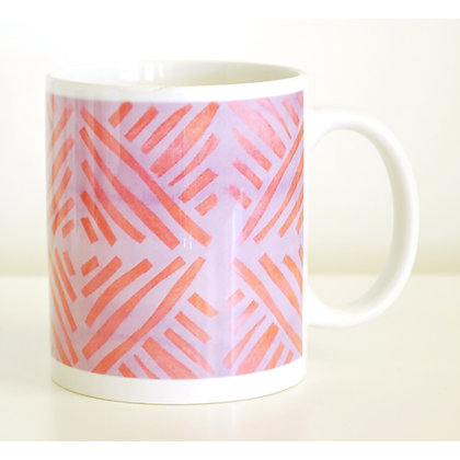 Mug, Copper Bars