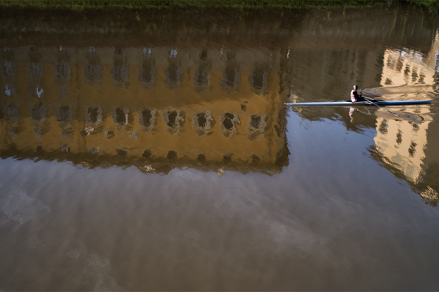 Rowing on the Arno