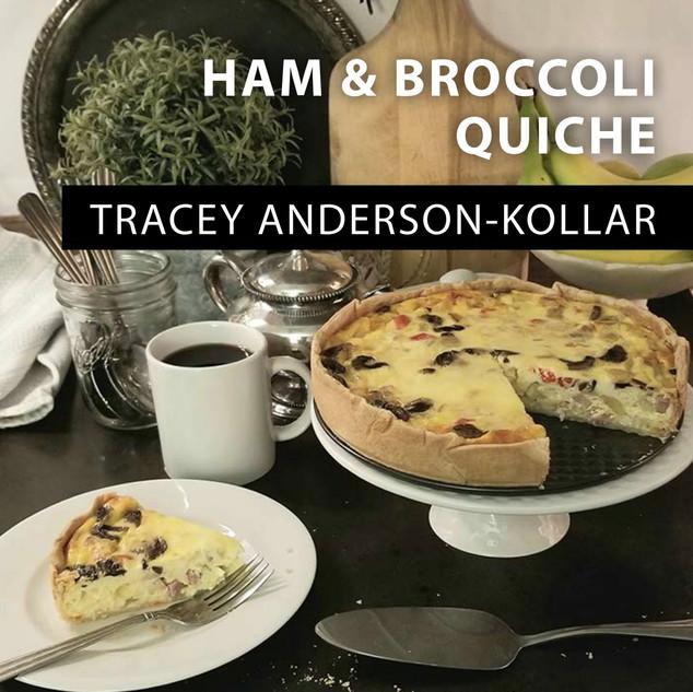 Ham & Broccoli Quiche