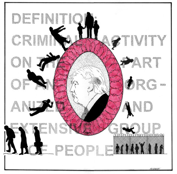 O is the Organized Crime