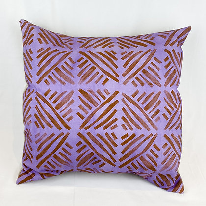 Pillow, Purple Lines
