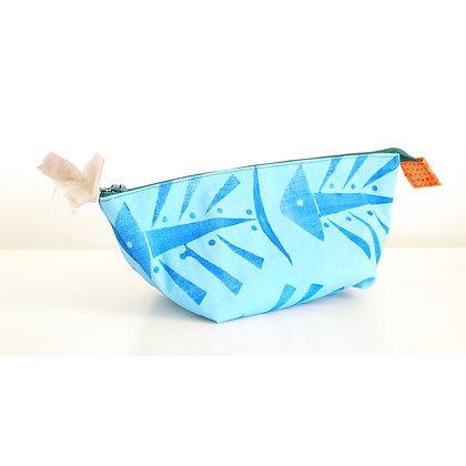 Pouch, Blue Fish