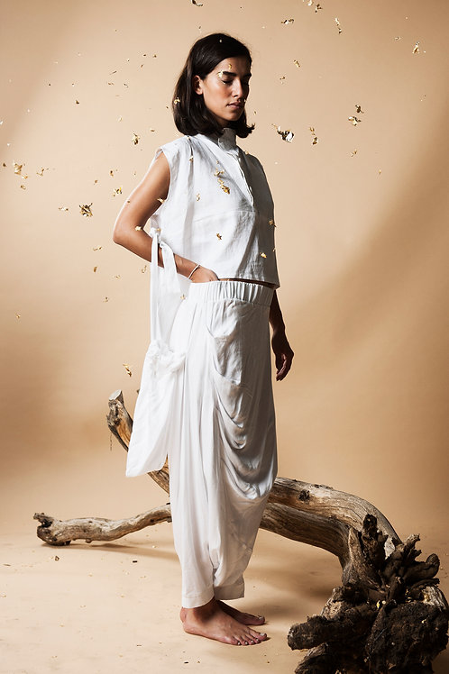 Organic Linen Moon Tunic